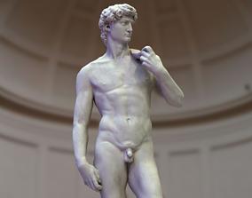 David - Michelangelo - Low Poly 3D model