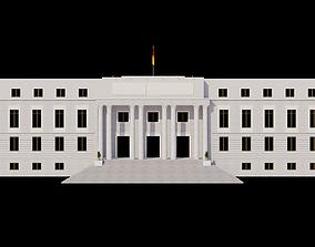 Edificio Building La Casa de Papel - Money Heist 3D model