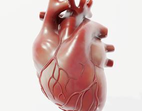 3D model realtime atrium Human Heart