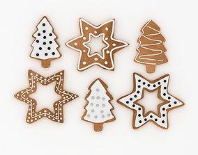 3D Christmas Cookies christmas