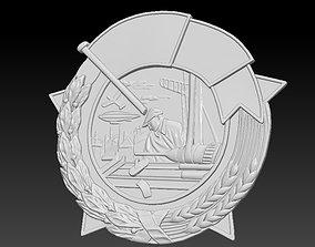 3D printable model Badge Man inventor