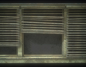 3D asset Window Old dirty Gameready