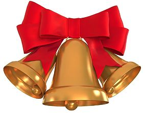 3D Christmas Holiday Bells