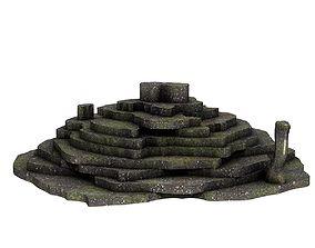 Stone Terrain 3D model VR / AR ready