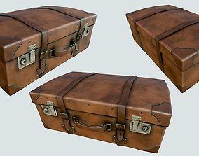 Vintage Suitcase PBR 3D asset