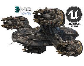 Prometheus Spaceship Pro 2019 3D