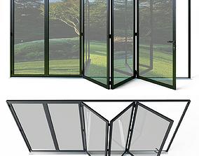 Bi folding doors 3D model