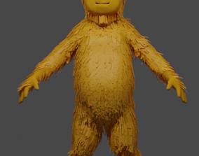 3D model Little Fuzzy