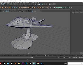 3D printable model Nighthawk Stealth Aircraft
