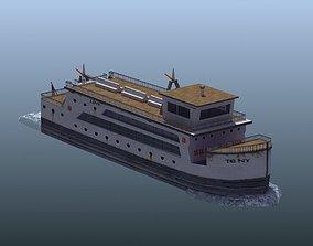 3D asset Passenger Ferry