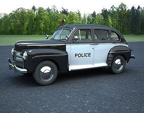 car 3D Ford Police Car