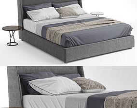 Poliform Chloe Bed Tables ILDA 3D model