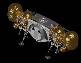 Dynetics ALPACA Human Landing System 3D model
