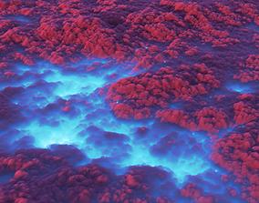 Clouds 3D asset