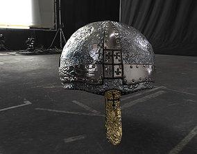 3D asset Bishops helmet - Low Poly - Game Ready