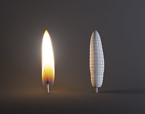 Candle flame 3D