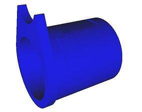3D printable model 1911 barrel bushing