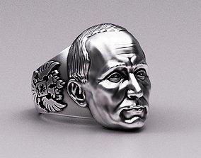 3D printable model Putin Ring