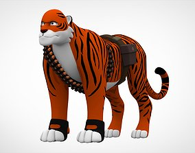 3D asset realtime TF2 Heavy Tiger