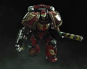 Space Marine Captain 3D