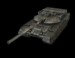 BlackEagle Tank 3D asset