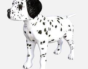 3D dalmat puppy