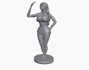 3D print model Selfie girl Pose