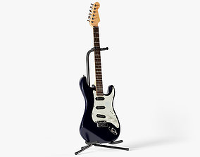 3D Stratocaster Guitar rock