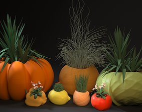 planter set 3D print model