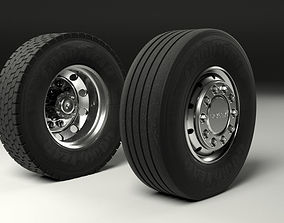 3D Scania Tyres