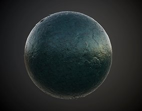 3D model Metal Rusted Painted Seamless PBR