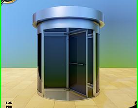 3D asset Revolving Door