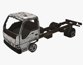3D model Old Truck 06