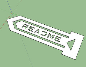 3D print model Bookmark Fablessy