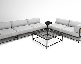 Stephen Kenn Sk sectional love seat corner lounge 3D