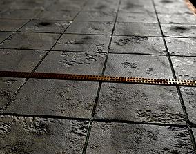 Street tile 3D model