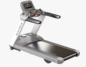 3D matrix fitness T7xe Treadmill
