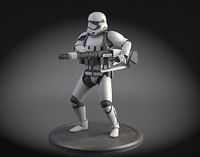 3D model Star Wars First Order Stormtrooper Heavy
