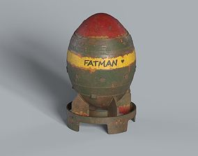 Mininuke Fallout Fatman Bomb 3D model