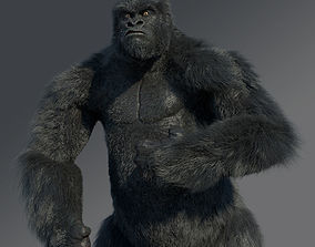 Gorilla rigged creature 3D model