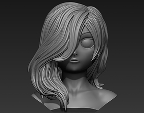 3D model Hair 13