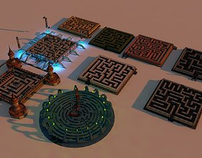 3D model Labyrinth Package