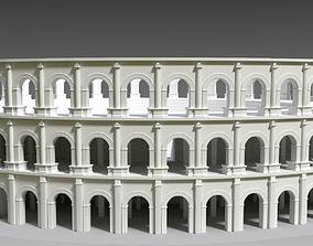 3D model Roman amphitheatre