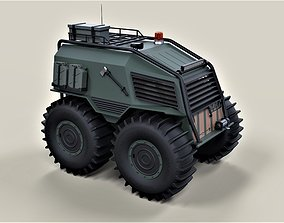 3D SHERP Ultimate survival machine for zombie