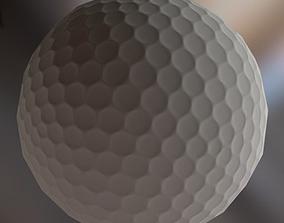 Golf Ball 3D model VR / AR ready
