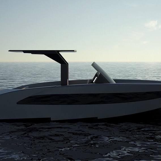 Aluminium boat 8.5 meters