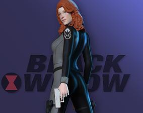 3D printable model Black Widow - Fan art johansson