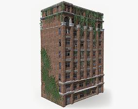 3D asset VR / AR ready Abandoned Building