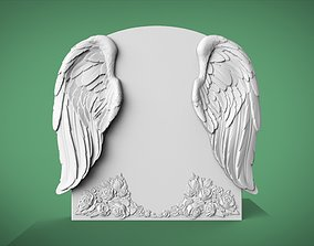 cemetery Memorial tombstone 3D model