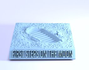 FIRST STEPS ON THE MOON 3D print model